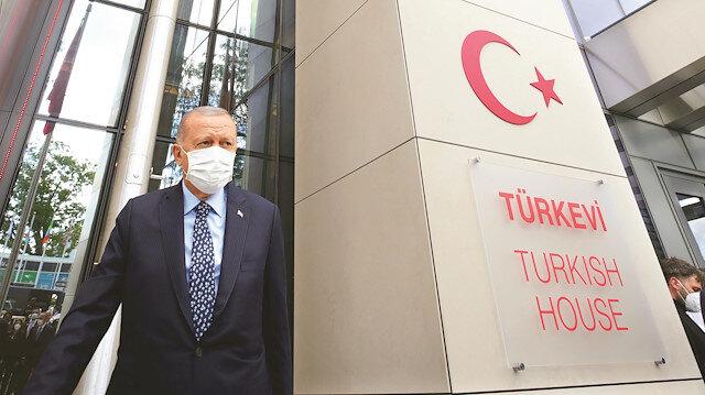 Cumhurbaşkanı Erdoğan Türkevi'ni açtı: Türkiye'nin artan gücünün sembolü