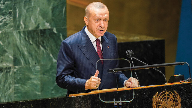 Erdoğan BM'de dünyaya seslendi: Yeni göç dalgasına imkan ve tahammülümüz yok