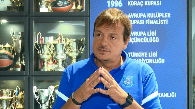 Anadolu Efes Başantrenörü Ergin Ataman: Fatih Terim de her sene şampiyon olacak diye bir şey yok