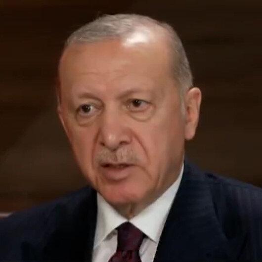 Cumhurbaşkanı Erdoğandan CBS televizyonunda Afganistan mesajı: Amerika orada niçin var?