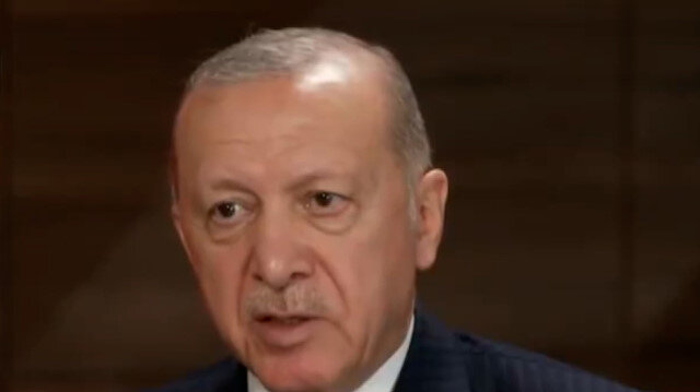 Cumhurbaşkanı Erdoğan'dan CBS televizyonunda Afganistan mesajı: Amerika orada niçin var?