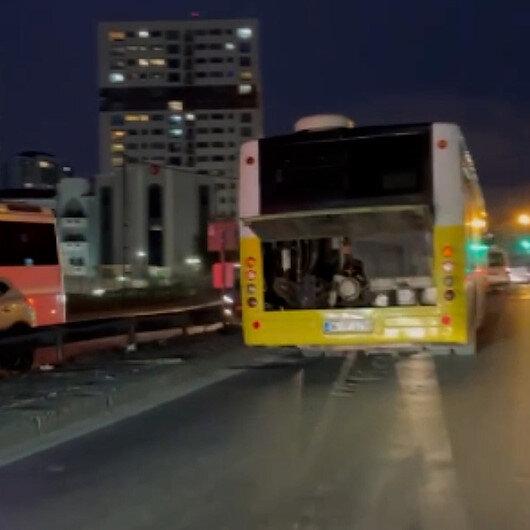 İstanbulda arızalı İETT otobüsünün bu seferki adresi Gaziosmanpaşa