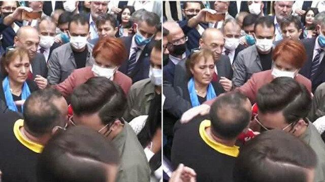 Meral Akşener'in sırtını sıvazladığı FETÖ'cünün yalanı ifşa oldu