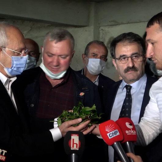 CHPden çay tiyatrosu: Üretici gibi bilgi veren kişi CHPli Kemalpaşa Belediye Başkanının oğlu çıktı