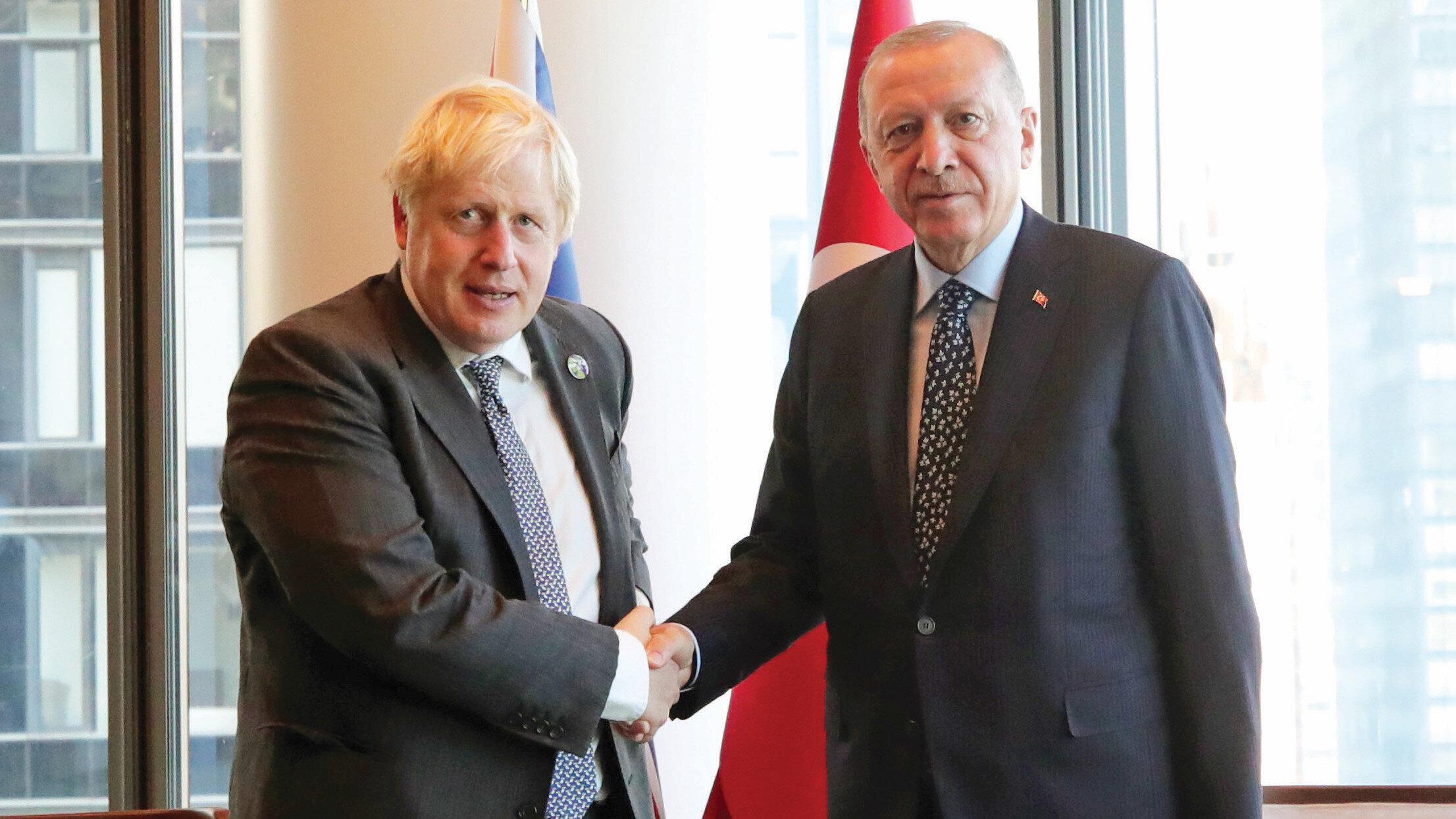 Boris Johnson - Cumhurbaşkanı Erdoğan