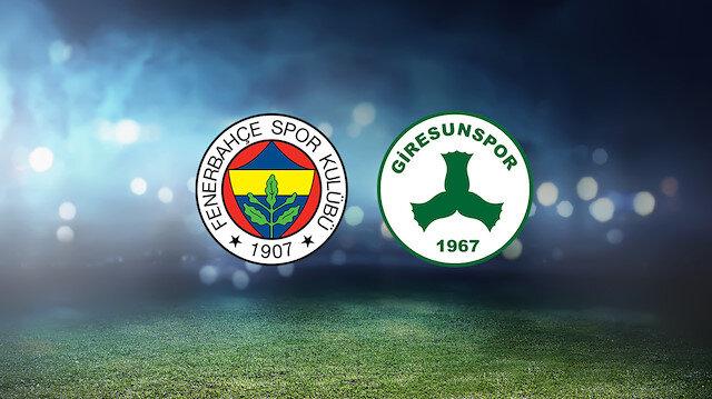 Fenerbahçe-GZT Giresunspor