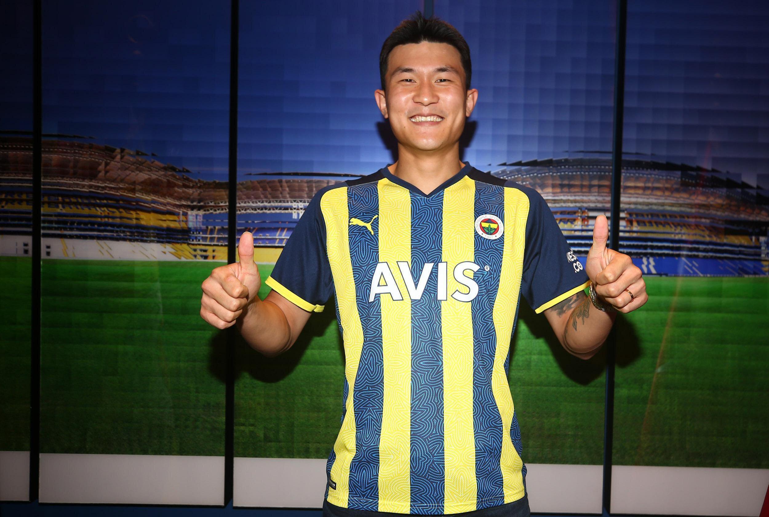 Fenerbahçe sezon başında Kim Min-jae'yi kadrosuna katmıştı.