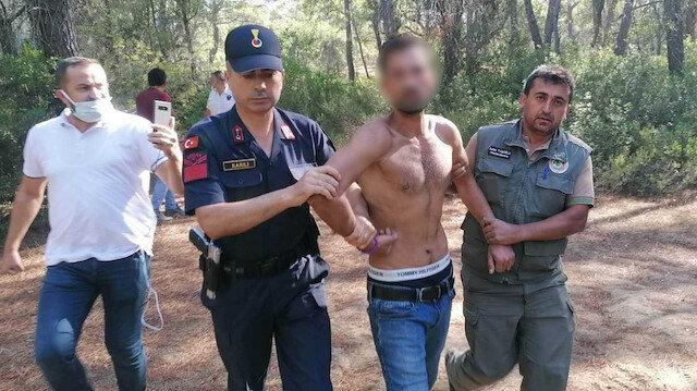 Ormanı yakarken yakalanmıştı: Suç makinesi çıktı