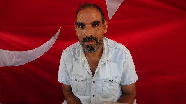 Evlat nöbeti tutan baba: HDP çocuğumu Amerika'nın askeri yapmış