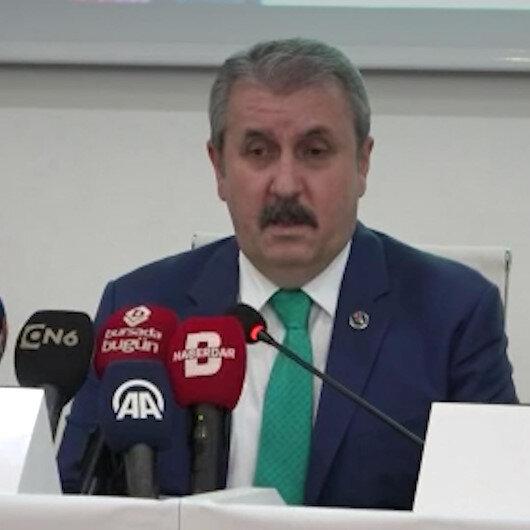 BBP Genel Başkanı Destici: Türk ve Müslümanların gururlanacağı ve herkesin gıptayla baktığı bir binanın açılışını bile küçümsemenin izahı yok