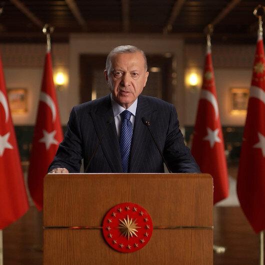 Cumhurbaşkanı Erdoğandan iklim krizi mesajı : Ülkemiz üzerine düşeni yapmaya devam edecektir