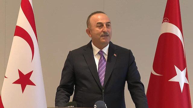 Bakan Çavuşoğlu: Milli davamız Kıbrıs'ı sonuna kadar birlikte savunmaya devam edeceğiz
