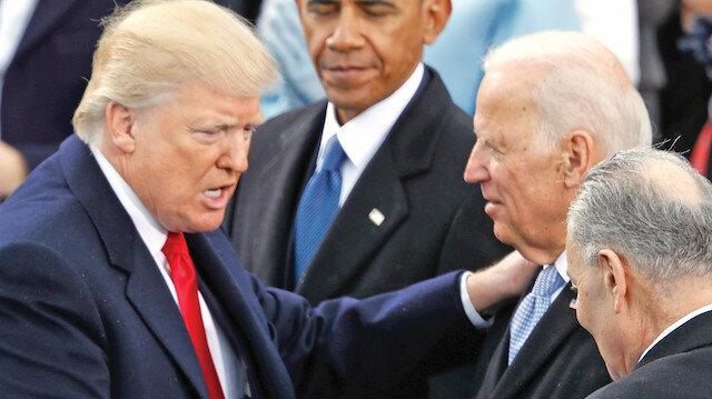 Trump Biden'ı geçti