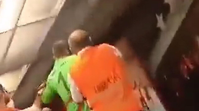 Muslera'nın maç sonunda Babacar'ın üzerine yürüdüğü görüntüsü ortaya çıktı