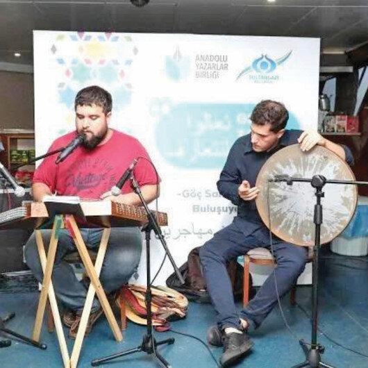Göçmen sanatçılar Boğaz'da buluştu