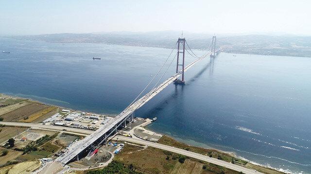 Köprü Lapseki'ye değer kattı
