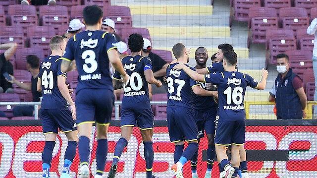 Fenerbahçe'de Hatay'da zirveye yerleşti