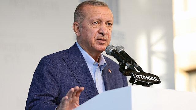 Cumhurbaşkanı Erdoğan'dan ABD'ye YPG/PKK tepkisi: Bu yardımın sona ermesi gerekiyor
