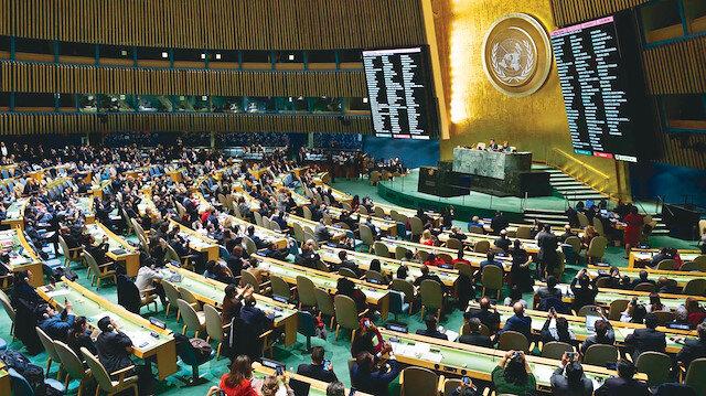 İslam dünyası BM'nin neresinde