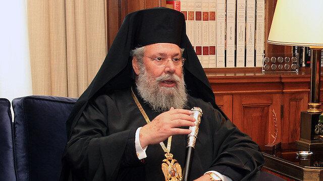 KKTC'den 'ırkçı ve küstah' açıklamalar yapan Rum Başpiskoposa sert tepki
