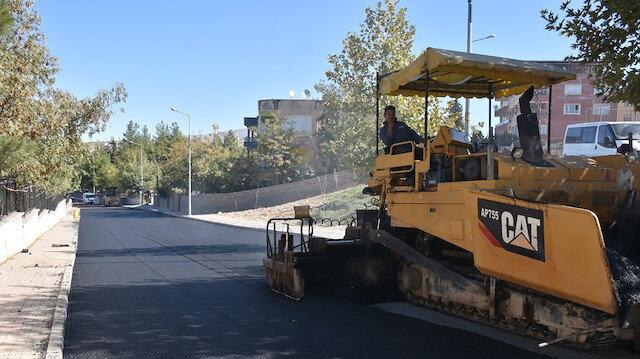 Siirt merkezde asfaltlama çalışmaları devam ediyor