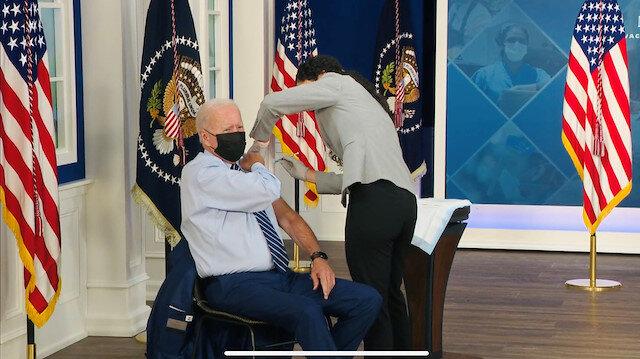 ABD Başkanı Biden'a üçüncü doz aşı