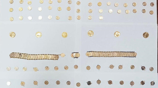 Çeyrek altında hile: Hatay'da gramajı eksik 206 çeyrek altın ele geçirildi