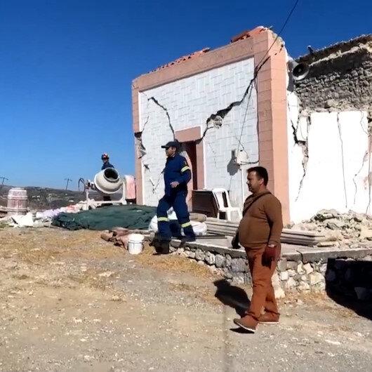 Girit Adası 5.8'lik depremle sarsıldı: 1 ölü