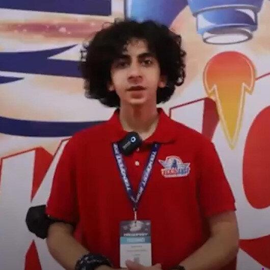 Uluslararası Murat Hüdavendigar Anadolu İmam Hatip Lisesi Öğrencisi İsmail Katsis projesiyle Teknofestte birinci oldu