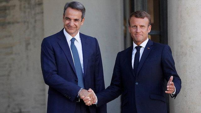 Macron: Yunanistan Osmanlı'ya karşı mücadele ederek Avrupa'nın kalbinde yer aldı