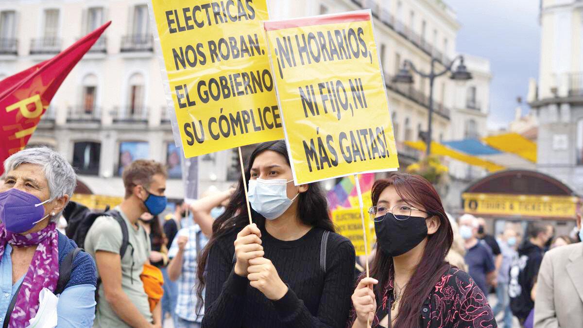 Yükselen enerji fiyatları geçtiğimiz haftalarda İspanya'da protestolara sebep oldu.