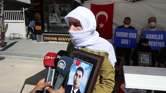Evladı PKK tarafından kaçırılan anne: Selahattin Demirtaş inşallah hapisten çıkmaz