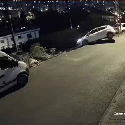 Ümraniyedeki navigasyon kazasının videosu ortaya çıktı