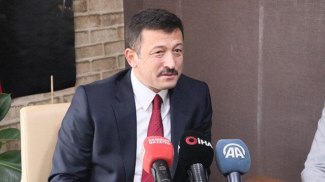 AK Parti Genel Başkan Yardımcısı Hamza Dağ: İnternet siteleriyle ilgili çalışma yapıyoruz