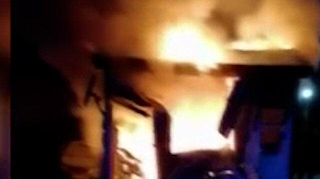 Kayseri'de işten çıkarılan operatör iş makinesini ateşe verdi