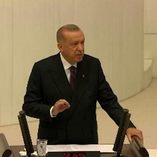 Cumhurbaşkanı Erdoğan:  Bölünerek büyüyemeyiz parçalanarak güçlenemeyiz
