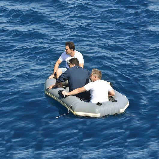 Bu yöntemi ilk kez denediler: Su altından Sisam'a