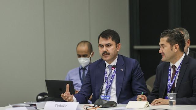 Bakan Murat Kurum PreCOP26 Bakanlar Toplantısı'nda konuştu: Paris Anlaşması'na taraf olacağız