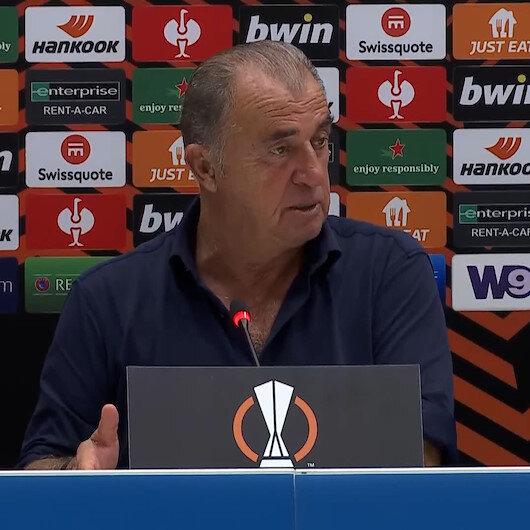 Fatih Terim Marsilya maçı sonrası aklında kalan pozisyonu açıkladı
