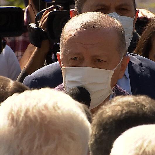 Cumhurbaşkanı Erdoğan Oğuzhan Asiltürkün cenaze törenine katıldı