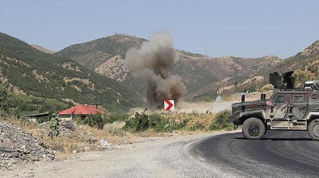 İçişleri duyurdu: PKK'nın tuzakladığı patlayıcı infilak ettirildi iki işçi şehit oldu