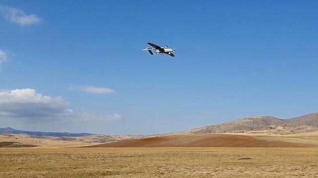 Dikey iniş-kalkış yapabilen insansız hava aracı 'BAHA' ilk testini başarıyla geçti