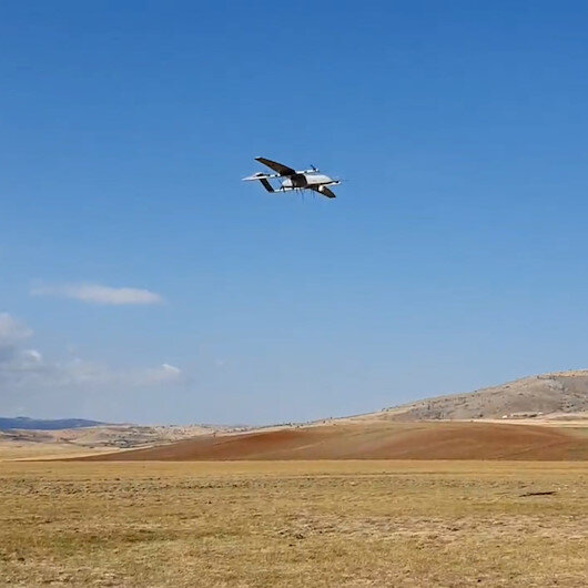Dikey iniş-kalkış yapabilen insansız hava aracı BAHA ilk testini başarıyla geçti