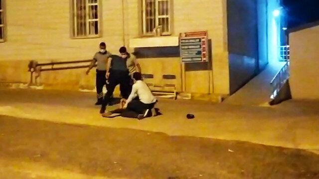 Şanlıurfa'da sağlık kontrolünde kaçan hükümlüyü vatandaşlar yakaladı