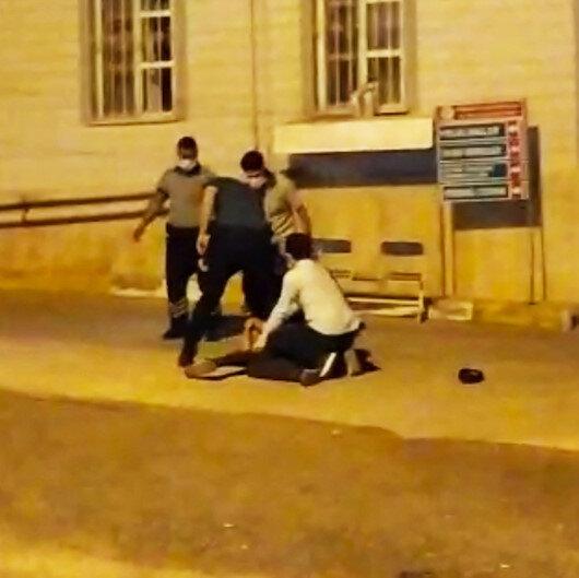 Şanlıurfada sağlık kontrolünde kaçan hükümlüyü vatandaşlar yakaladı