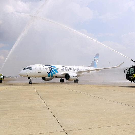 Mısır Hava Yolları'ndan İsrail'e ilk uçuş