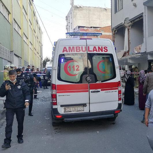 İstanbul Avcılar'da bir evde patlama