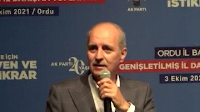 AK Parti Genel Başkanvekili Kurtulmuş: Z Kuşağı AK Parti'ye oy vermeyecek şeklinde bir algı oluşturmaya çalışıyorlar