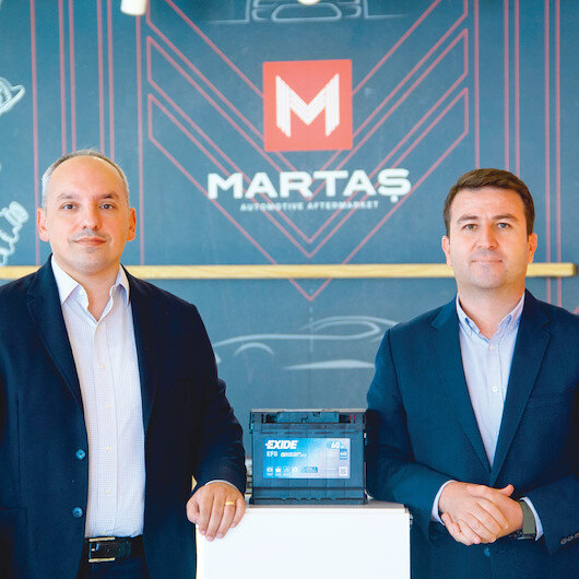 130 yıllık akü üreticisi Exide Martaş'la pazara girdi