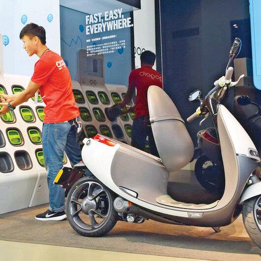 Motosiklette elektrik birliği